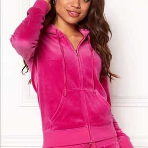 Juicy Couture Bling Velour Zip-Up